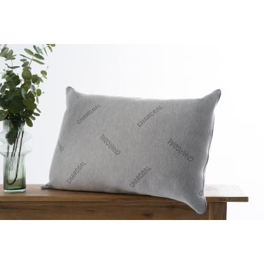 Dream Night Pillow - Charcoal Firm